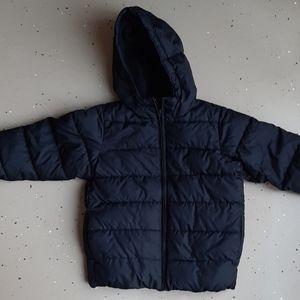 Children's Place Black Puffer winter Jacket 5T